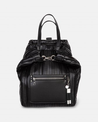 Largo - Backpack with Removable and adjustable crossbody strap - Black Céline Dion