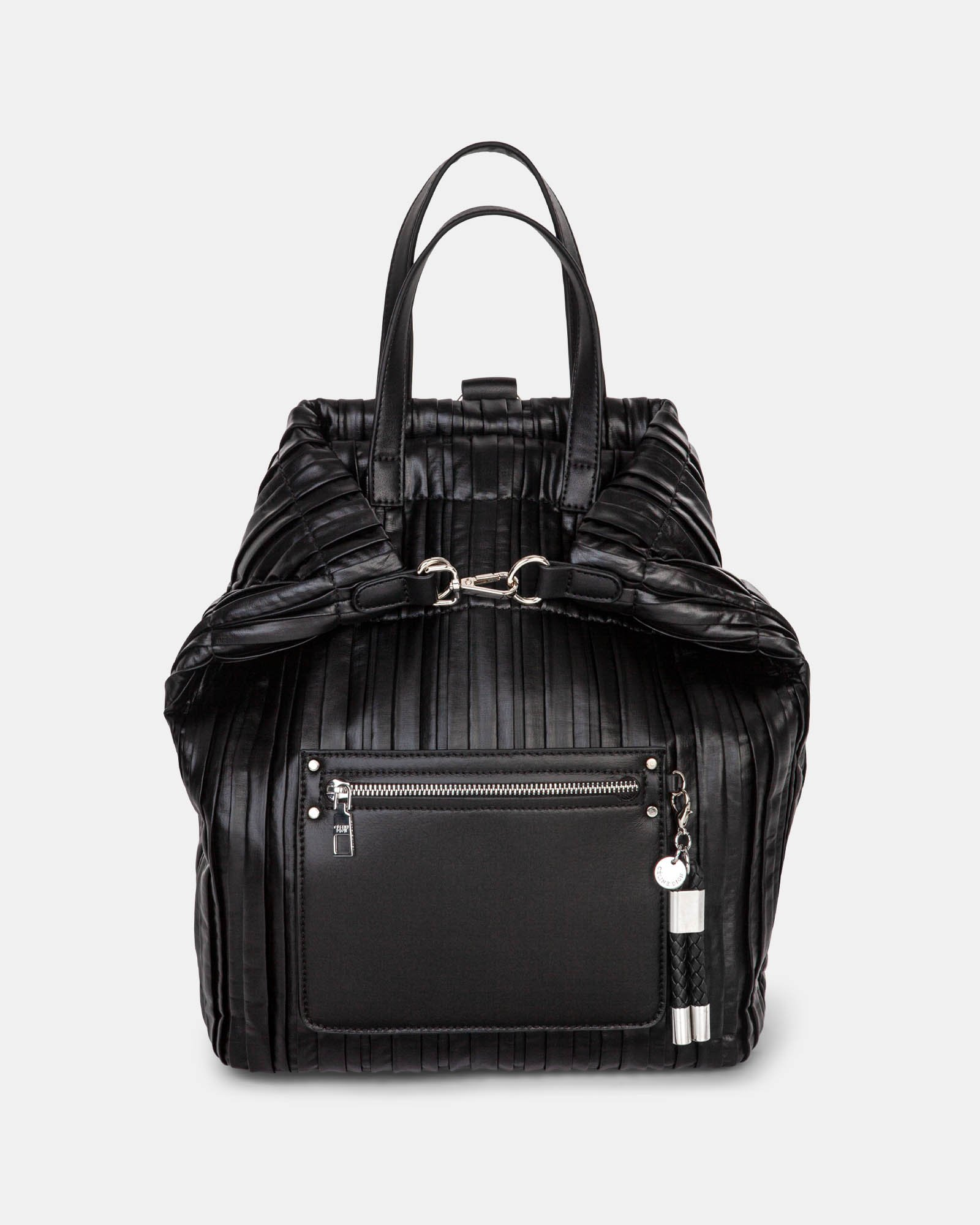 Largo - Backpack with Removable and adjustable crossbody strap - Black - Céline Dion - Zoom