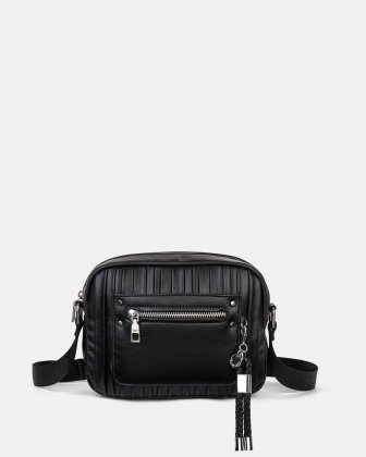 Largo - Crossbody with Adjustable, Céline Dion signature crossbody strap - Black Céline Dion