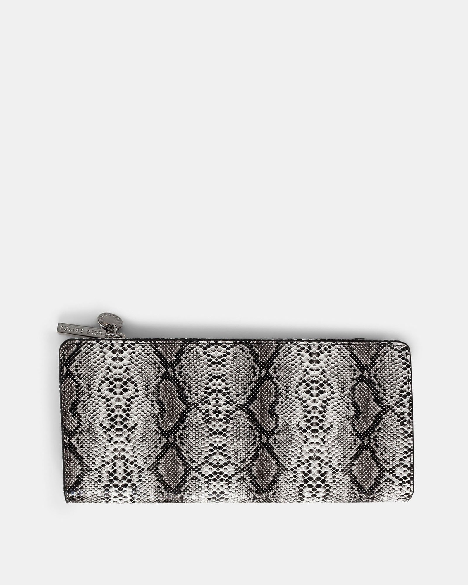 Duo - Wallet with zipper compartment - black/snake - Céline Dion - Zoom