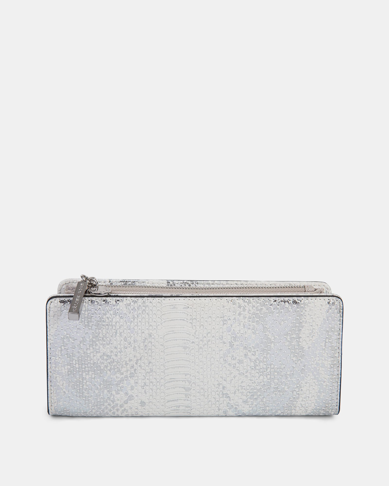 Duo - Wallet with zipper compartment - white/snake - Céline Dion - Zoom