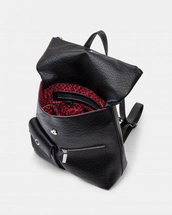 Rock N Gold - Backpack with Adjustable shoulder straps - Black Joanel