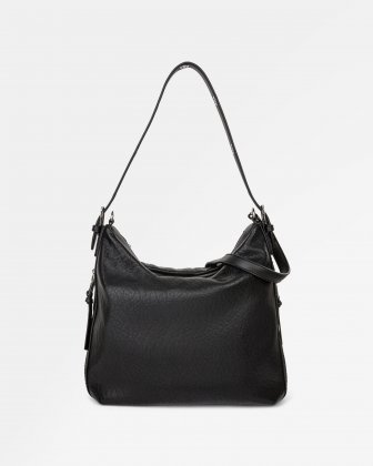 Rock N Gold - Hobo with Adjustable shoulder strap - Black Joanel