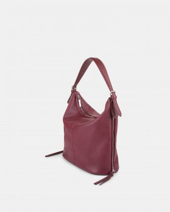 Zoom - Hobo with Adjustable shoulder strap - Red Joanel