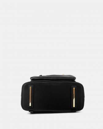 NYLON - Convertible backpack 2 in 1 WITH RFID PROTECTION - BLACK - Céline Dion
