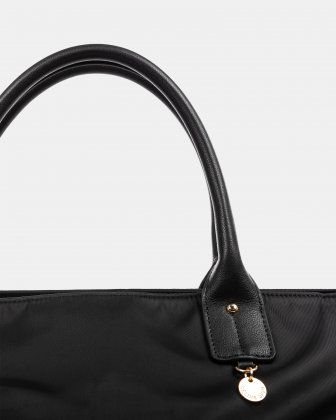 NYLON - DUFFLE BAG WITH RFID PROTECTION - BLACK - Céline Dion
