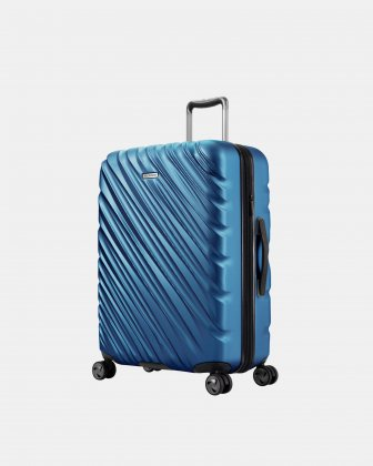 """Ricardo - Scoop Collection 24"""" Luggage with 8 spinner wheels - Blue Ricardo"""