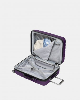 "Ricardo - Scoop Collection 24"" Luggage with 8 spinner wheels - Purple Ricardo"