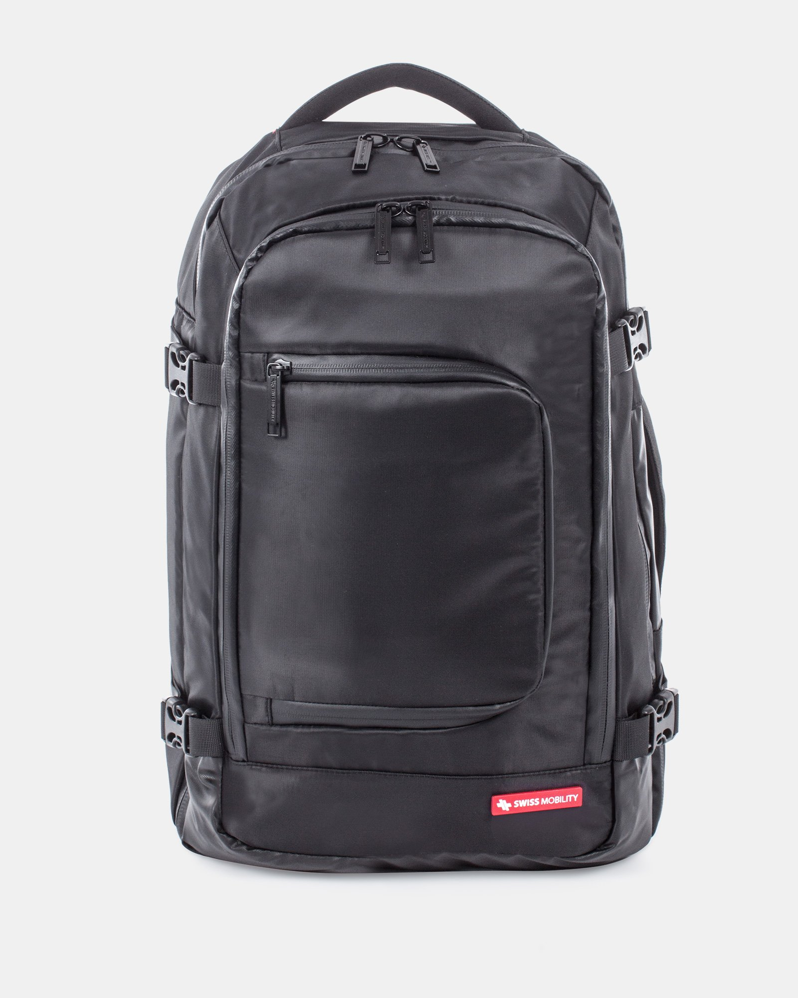 """cadence - Convertible Backpack fits most 15.6"""" laptop - Black - Swiss Mobility - Zoom"""