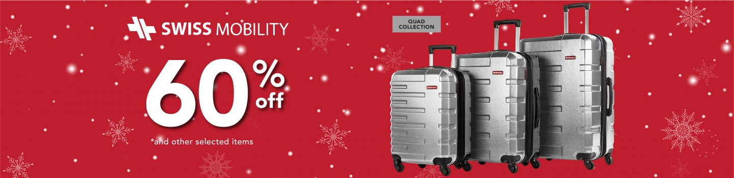 SWISS MOBILITY // UP TO 60% OFF
