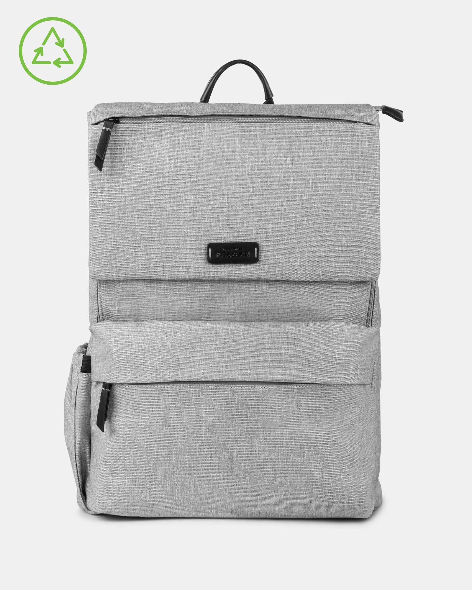 Bugatti – Reborn Collection – Lightweight Backpack – Made of 100% Recycled Material - GREY - Bugatti - Zoom