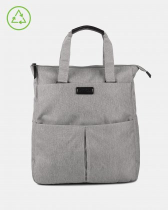 Bugatti – Reborn Collection – 3-in-1 Tote Bag – Made of 100% Recycled Material - Grey Bugatti