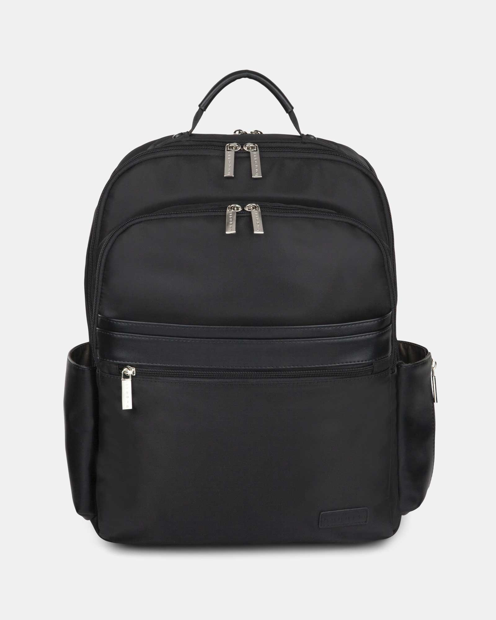 """Moretti - Backpack with Padded laptop compartment for 15.6"""" + RFID protection - Black  - Bugatti - Zoom"""