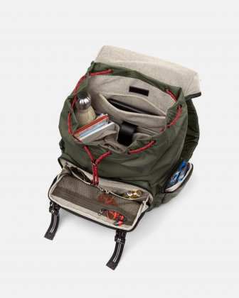 MOUFLON - ANDROMEDA BACKPACK WITH TWO SIDE POCKETS WITH ZIPPERED CLOSURE - KHAKI Mouflon