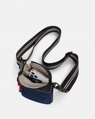 MOUFLON - ANDROMEDA MOBILE CASE WITH TOP ZIPPERED OPENING - NAVY Mouflon