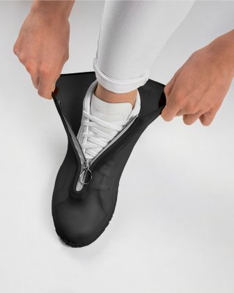 SILIKOOLS - COUVRE-CHAUSSURES SILICONE TAILLE MOYENNE - NOIR Bondstreet