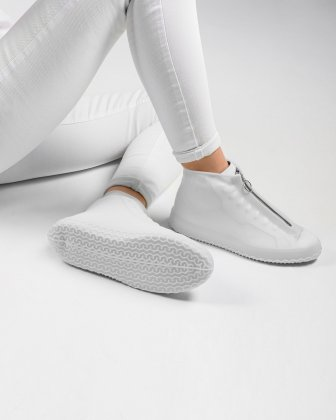 SILLIES - COUVRE-CHAUSSURES SILICONE TAILLE PETIT - GLACIAL - Bondstreet
