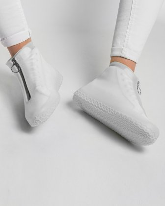 SILIKOOLS - COUVRE-CHAUSSURES SILICONE TAILLE MOYENNE - GLACIAL - Bondstreet