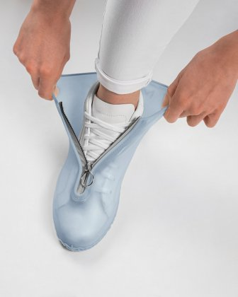 SILIKOOLS - COUVRE-CHAUSSURES SILICONE TAILLE LARGE - BLEU Bondstreet