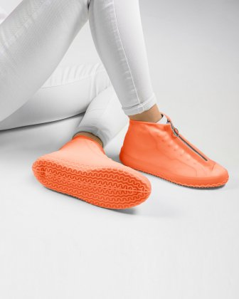 SILLIES - COUVRE-CHAUSSURES SILICONE TAILLE LARGE - AUBE - Bondstreet