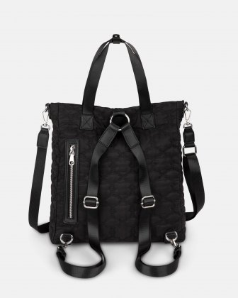 Montmartre - Backpack with Top main zippered opening - Black - Bugatti