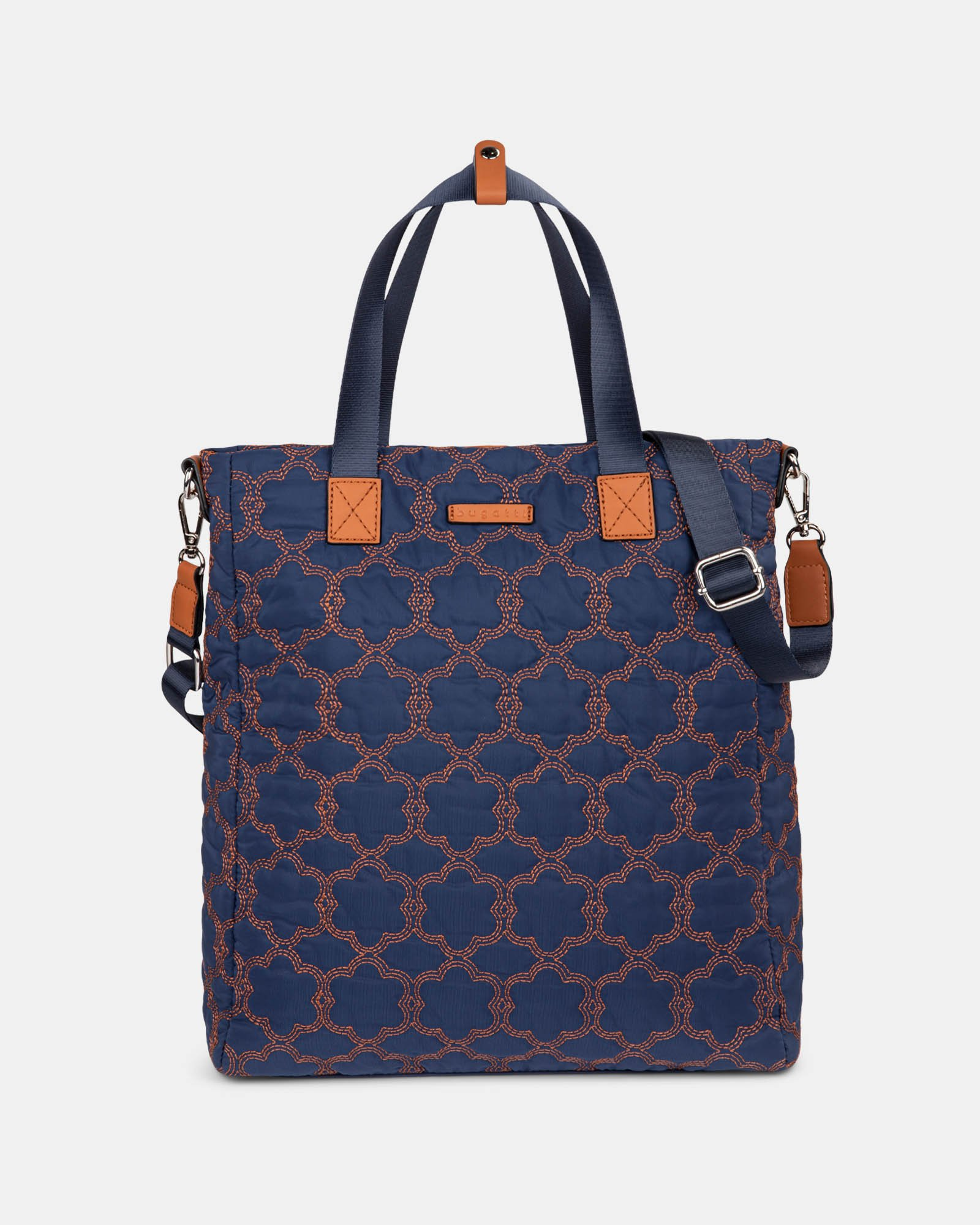 Montmartre - Backpack with Top main zippered opening - NAVY - Bugatti - Zoom