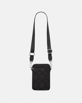 Montmartre - Mobile Case Crossbody with Top main zippered opening - Black Bugatti