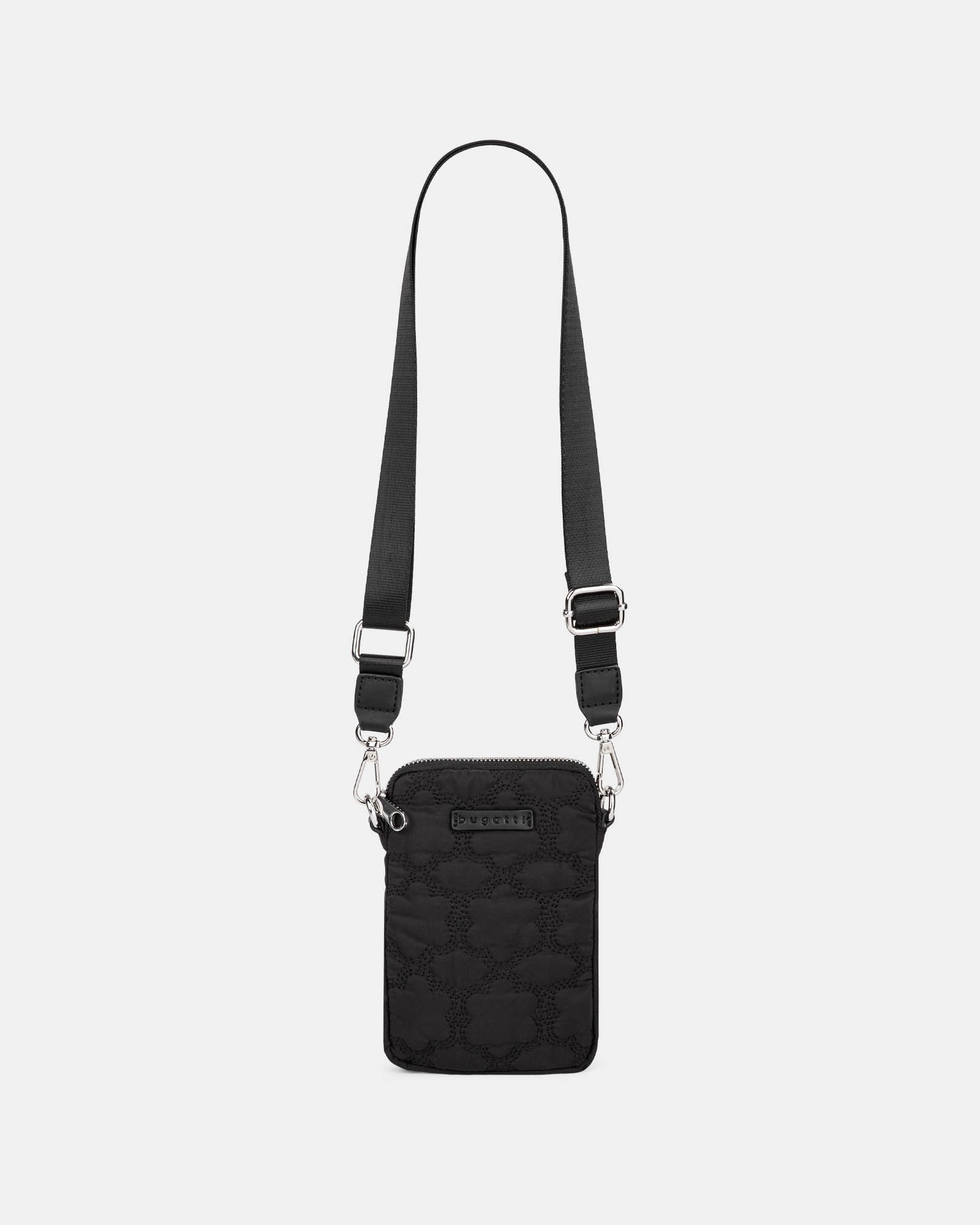 Montmartre - Mobile Case Crossbody with Top main zippered opening - Black - Bugatti - Zoom