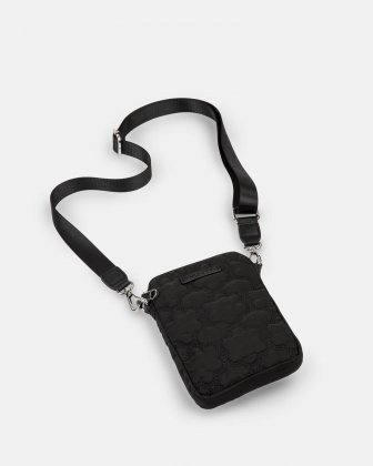 Montmartre - Mobile Case Crossbody with Top main zippered opening - Black - Bugatti