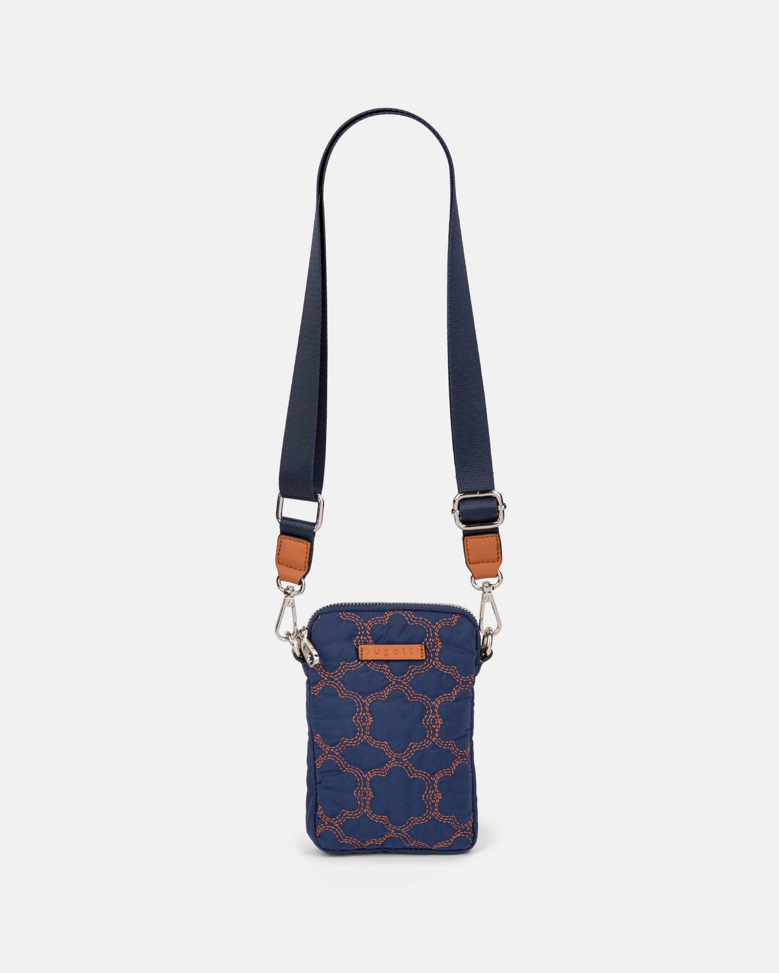 Montmartre - Mobile Case Crossbody with Top main zippered opening - navy - Bugatti - Zoom