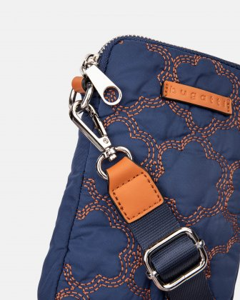 Montmartre - Mobile Case Crossbody with Top main zippered opening - navy - Bugatti
