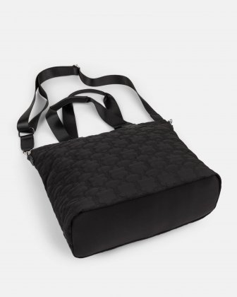 Montmartre - tote bag with Top main zippered opening - Black - Bugatti