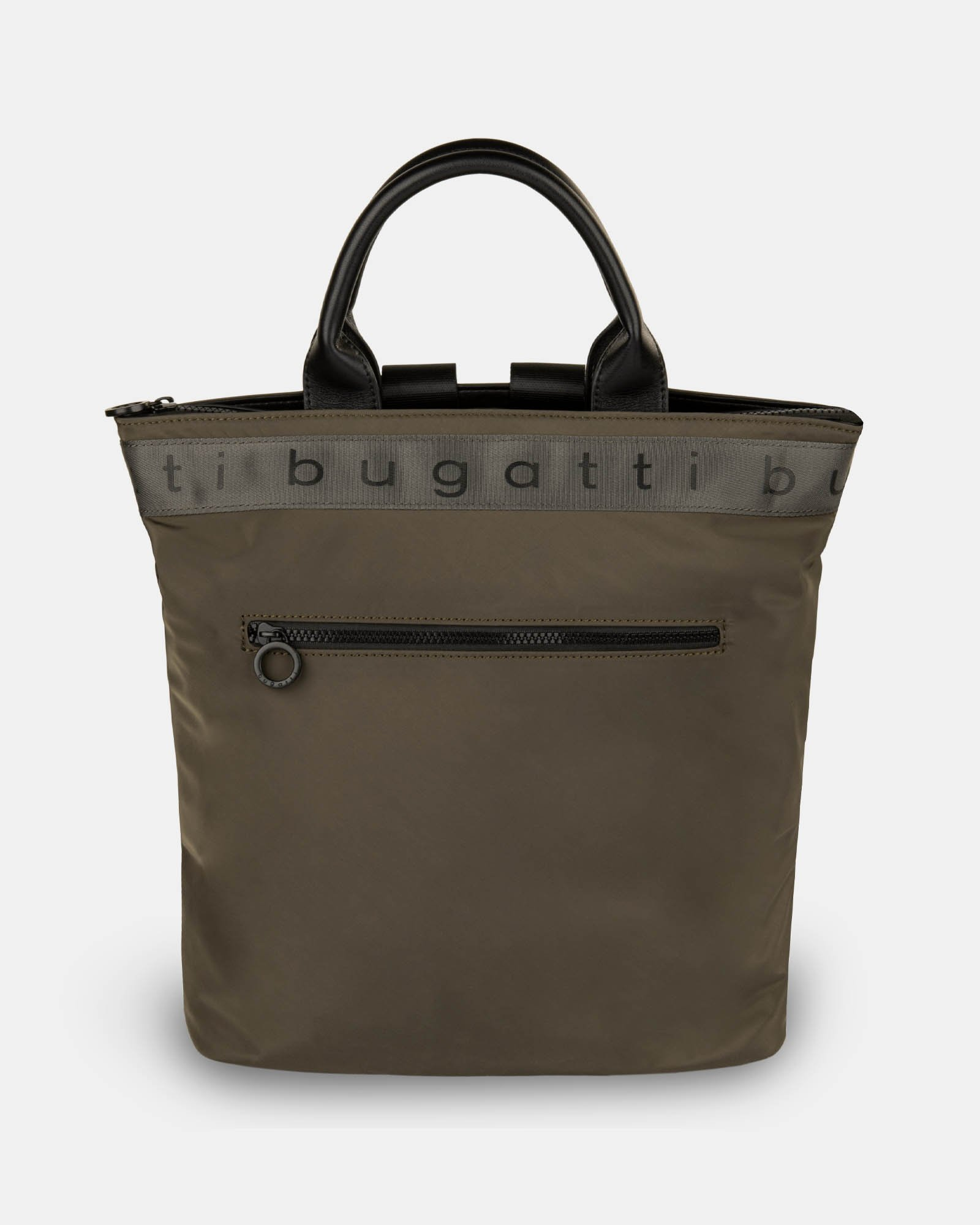 Tofino - Convertible Backpack/tote with Top zippered opening - Khaki - Bugatti - Zoom
