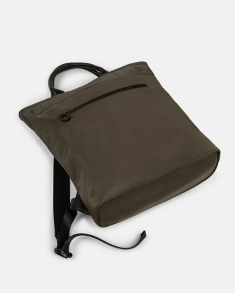 Tofino - Convertible Backpack/tote with Top zippered opening - Khaki - Bugatti