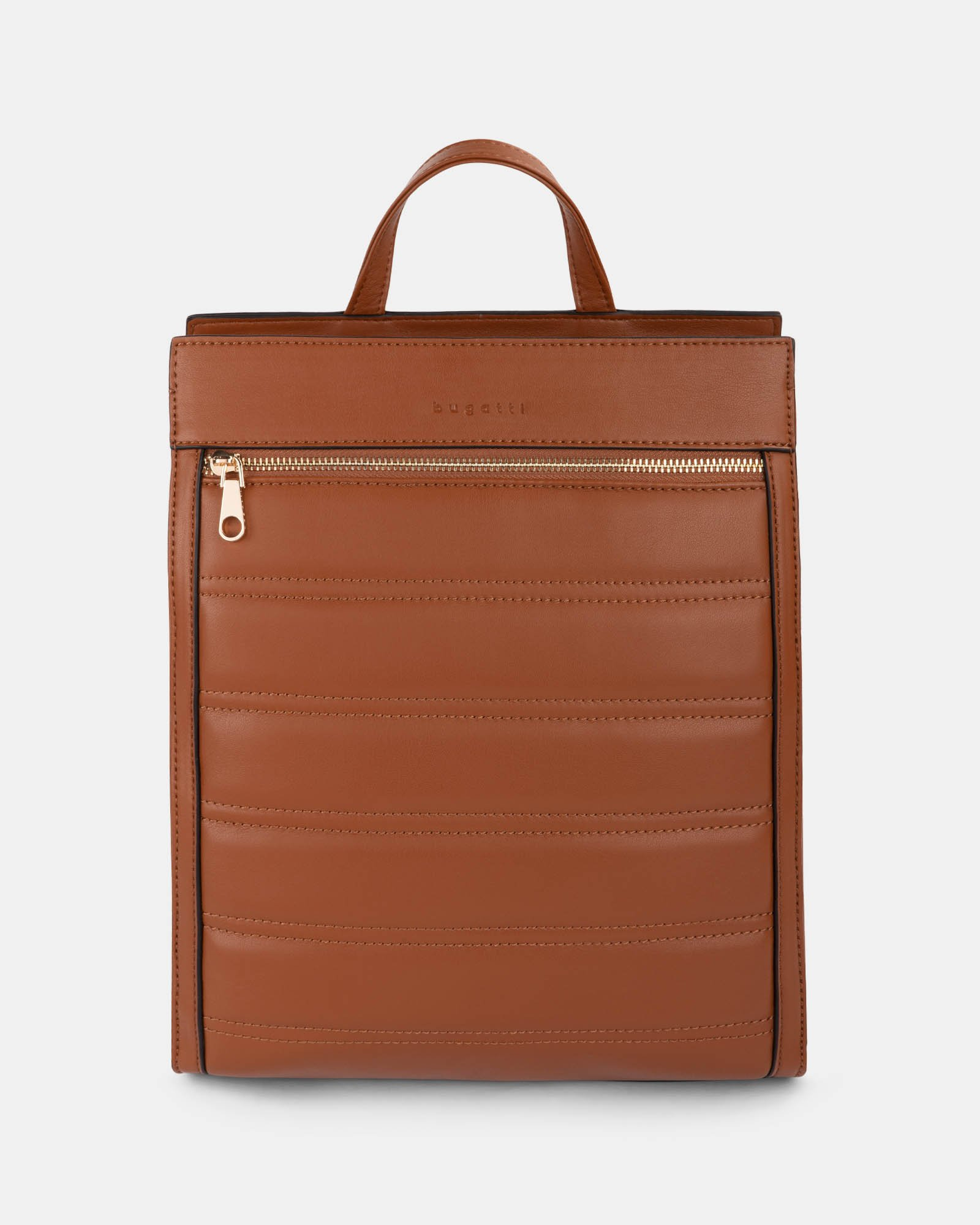 Soho - Backpack with Adjustable and removable back straps - tan - Bugatti - Zoom