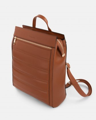 Soho - Backpack with Adjustable and removable back straps - tan - Bugatti