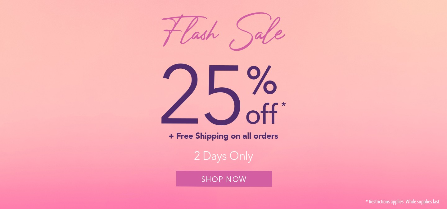 FLASH SALE // 2 DAYS ONLY !