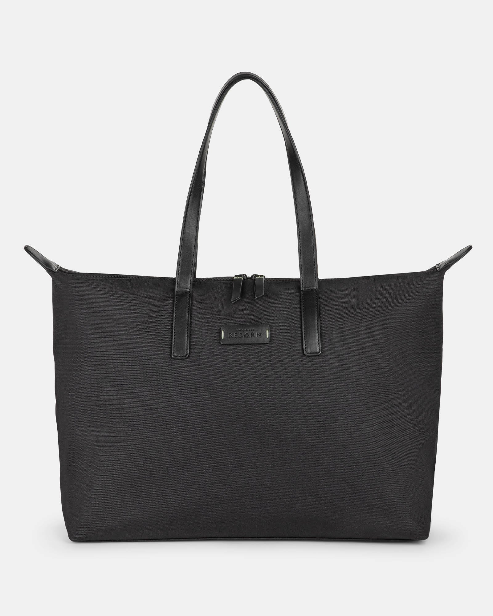 Bugatti – Reborn Collection – Tote bag with integrated shoe pocket – Made of 100% Recycled Material - Bugatti - Zoom