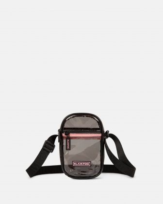 Blackpink - Clearly You Collection -Black-tinted see-through mobile case with pink zippers - Black BLACKPINK