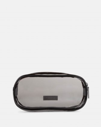Blackpink - Clearly You Collection - black-tinted see-through pencil case with a pink zipper - Black - BLACKPINK