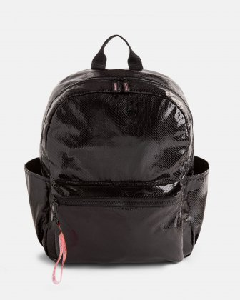 BLACKPINK - Scaled Up Collection - Backpack with Interior padded pocket ideal to store a laptop (up to 15.6 inches) and most tablets - Black BLACKPINK