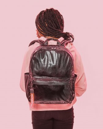 BLACKPINK - Scaled Up Collection - Backpack with Interior padded pocket ideal to store a laptop (up to 15.6 inches) and most tablets - Black - BLACKPINK