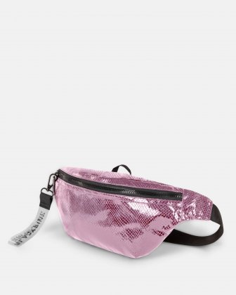 BLACKPINK - Scaled Up Collection - Money Belt with One single zippered opening to store your personal belongings when on the move - Pink - BLACKPINK