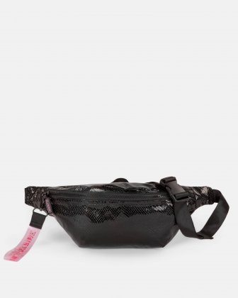 BLACKPINK - Scaled Up Collection - Money Belt with One single zippered opening to store your personal belongings when on the move - Black BLACKPINK