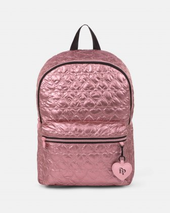 BLACKPINK - Be Still My Heart Collection - Backpack with Front zippered pocket for your most valuable items - pink BLACKPINK