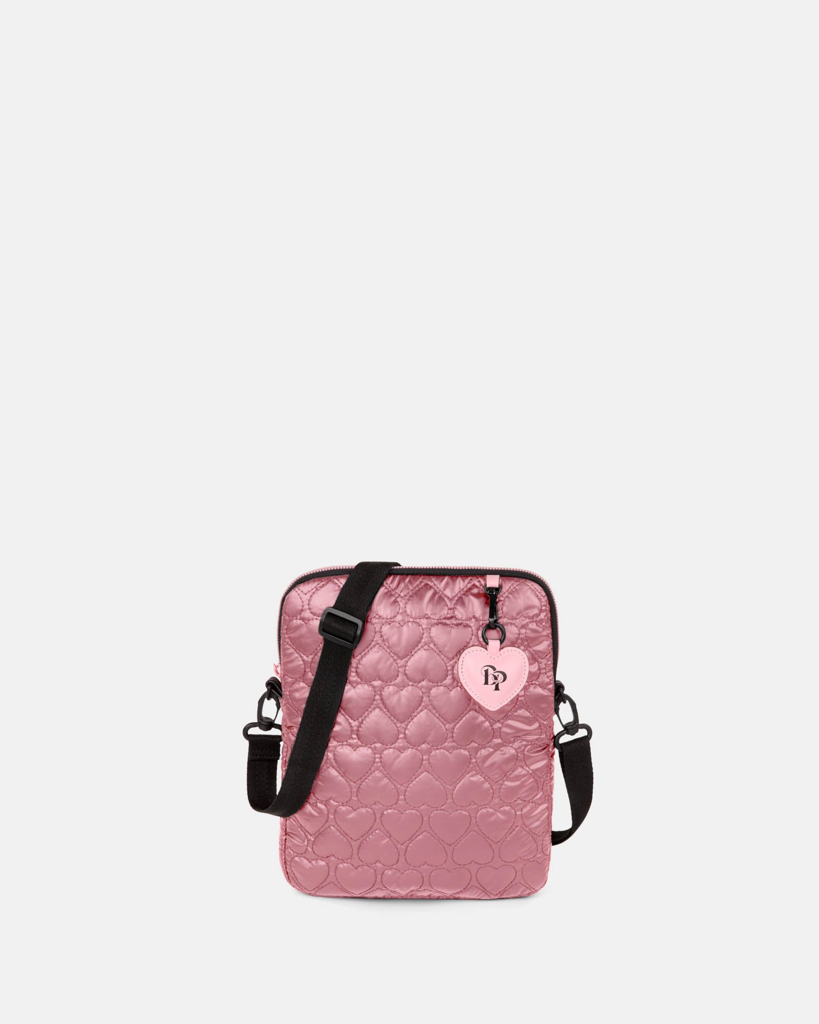 BLACKPINK - Be Still My Heart Collection - Crossbody bag with Padded main compartment with a top zippered opening, ideal to store your tablet- pink - BLACKPINK - Zoom