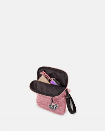 BLACKPINK - Be Still My Heart Collection - Crossbody bag with Padded main compartment with a top zippered opening, ideal to store your tablet- pink - BLACKPINK