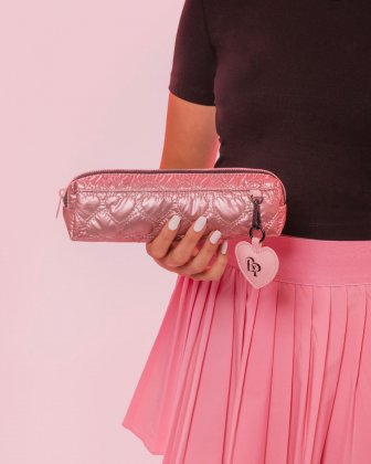 BLACKPINK - Be Still My Heart Collection - A stylish pencil case to store your pens, make-up items and smaller accessories - pink BLACKPINK