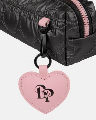 BLACKPINK - Be Still My Heart Collection - A stylish pencil case to store your pens, make-up items and smaller accessories - black - BLACKPINK