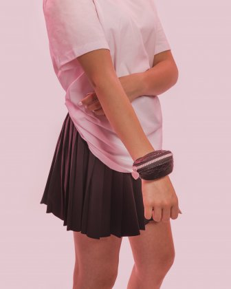 BLACKPINK - Be Still My Heart Collection - Stand out from the crowd with this cute wrist pouch - black BLACKPINK